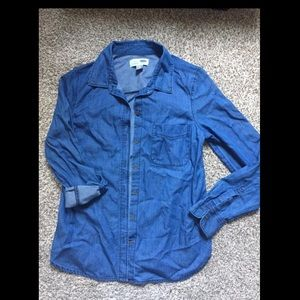 Old Navy XS Chambray button down shirt